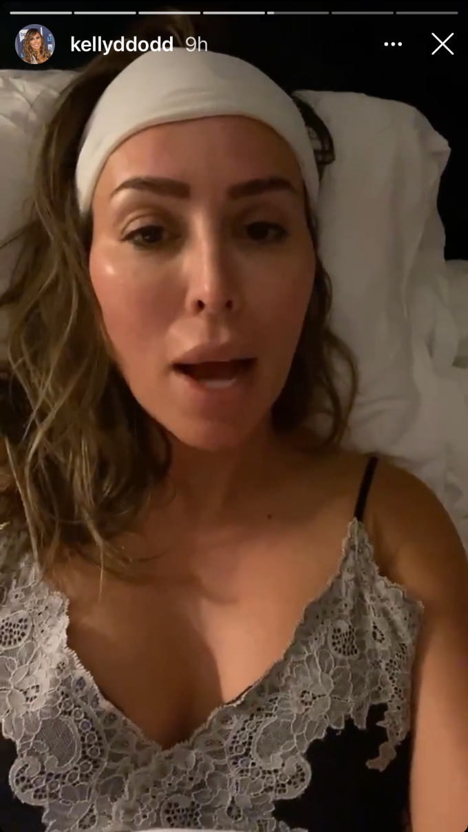 RHOC star Kelly Dodd tells ex husband Michael Dodd during an Instagram live to sign their legal papers and she will stop blasting him