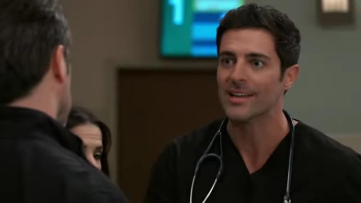 Matt Trudeau as Lucas on General Hospital.