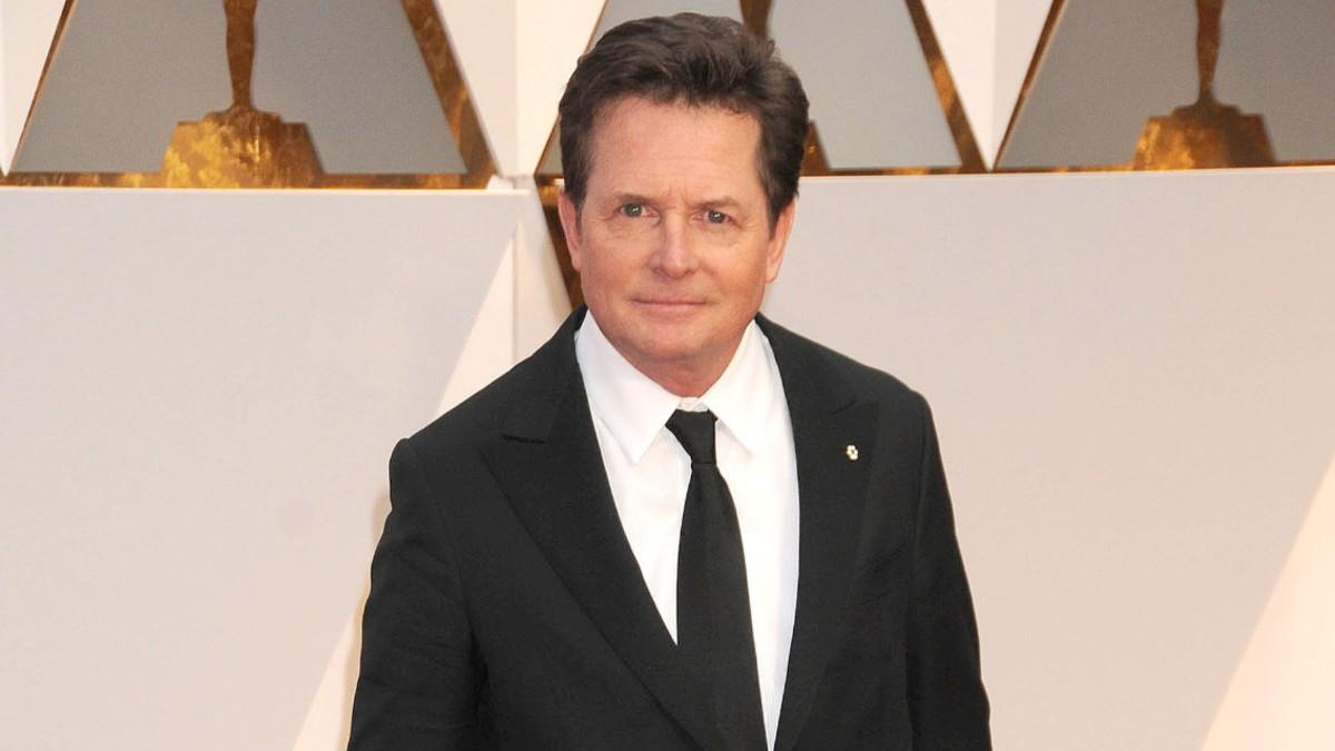 Michael J Fox on the red carpet