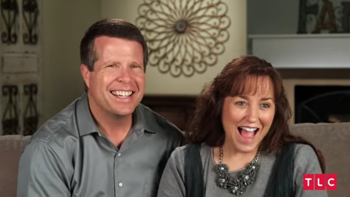 Jim Bob and Michelle Duggar in a confessional.