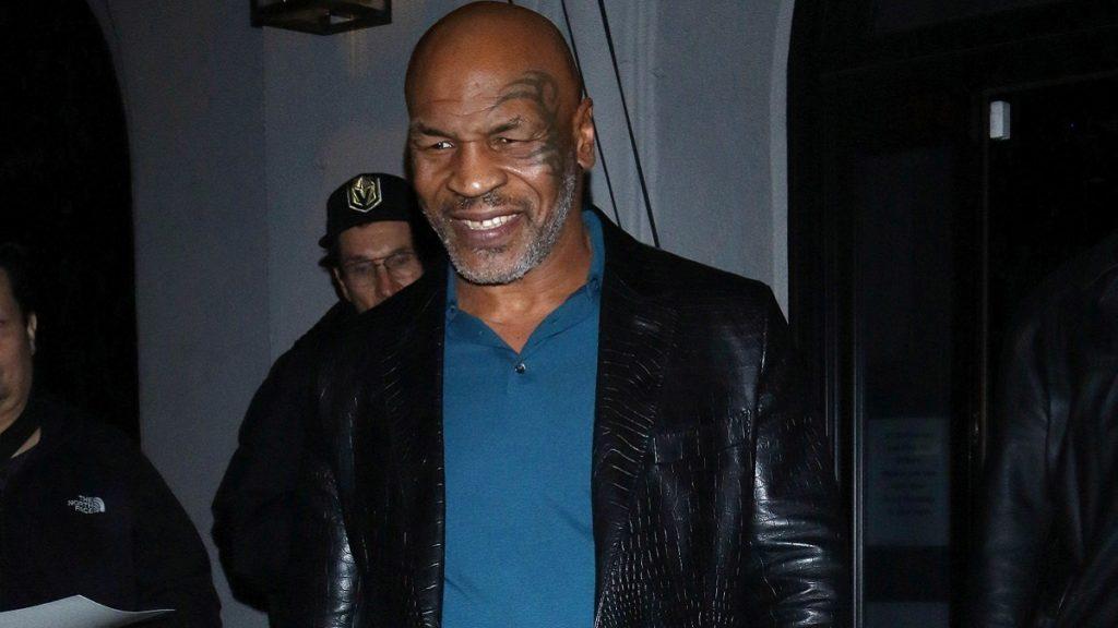 Former heavyweight champion Mike Tyson