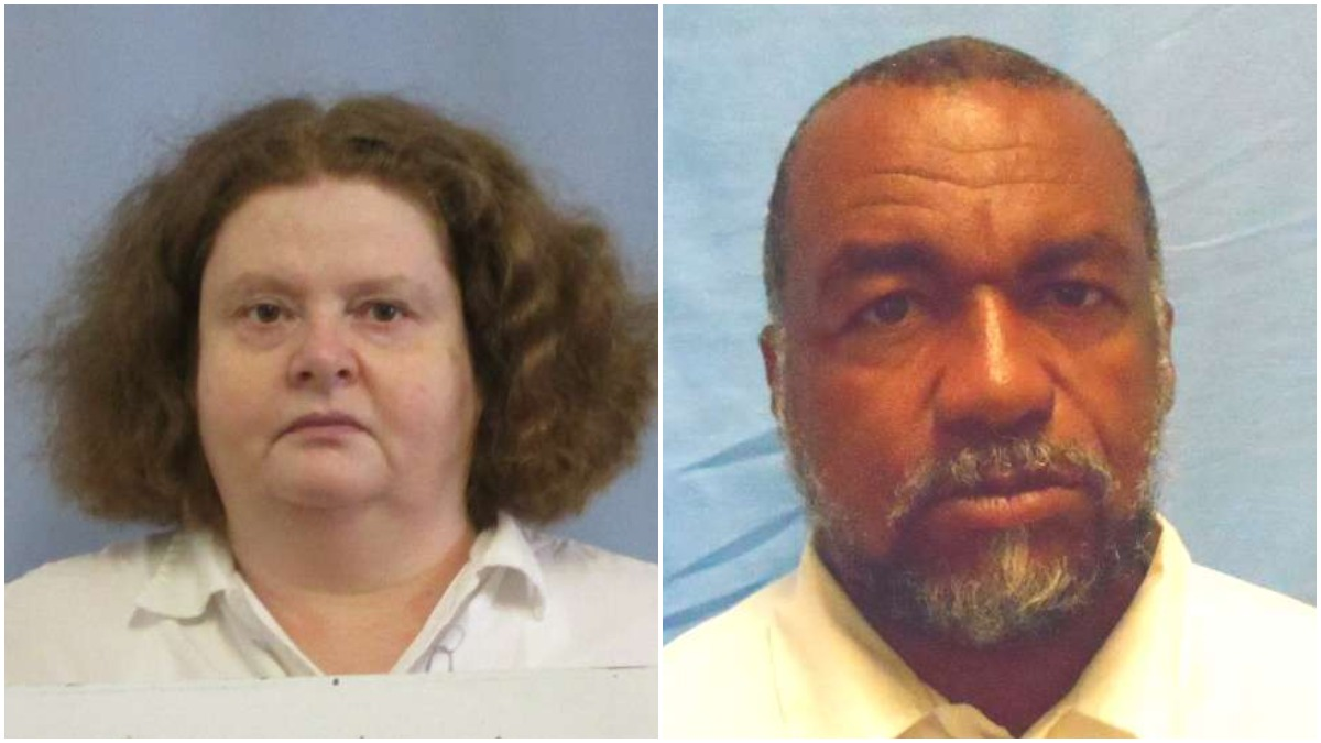 Mugshots of Lisa Graham and Kenneth Walton