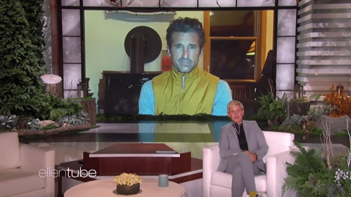 Patrick Dempsey appeared on The Ellen Show