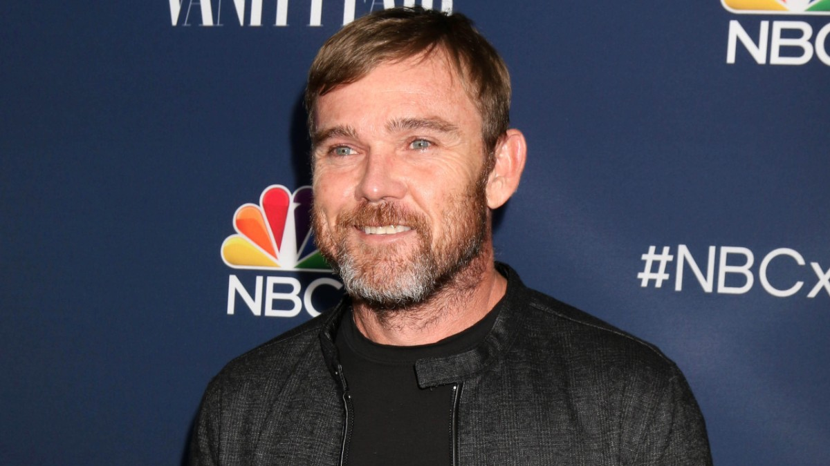 Ricky Schroder on the red carpet