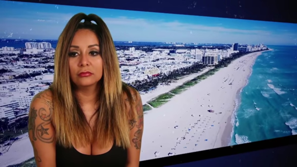 Why is Snooki not on Jersey Shore Family Vacation Season 4.