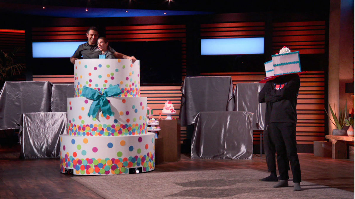 Surprise Cake is the newest baking invention featured on Shark Tank.
