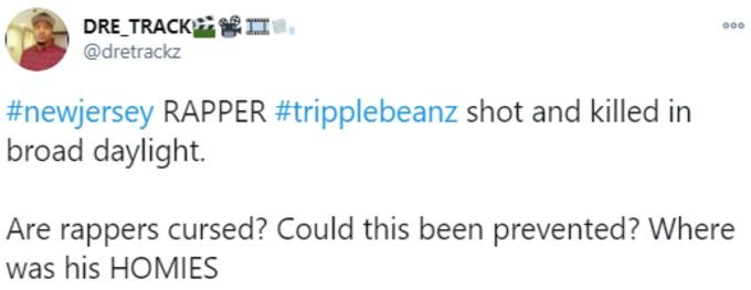 Tweeter wonders if shooting could be prevented