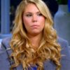 Kail Lowry during a reunion episode of Teen Mom 2
