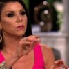 Heather Dubrow during a reunion episode of The Real Housewives of Orange County
