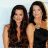 Lisa Vanderpump and Kyle Richards had a recent run in at LA restaurant