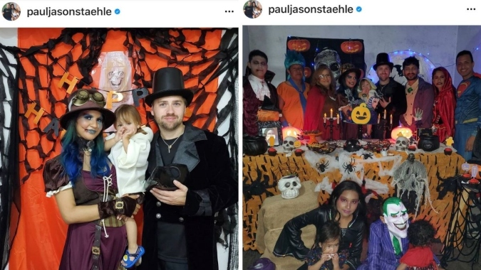 Paul Staehle and Karine Martins are back in Brazil as they celebrate Halloween