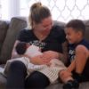 Kailyn Lowry shows her son Lincoln his new baby brother on an episode of Teen Mom 2