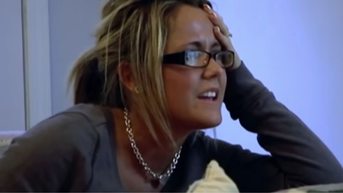 Jenelle Evans during an episode of Teen Mom 2