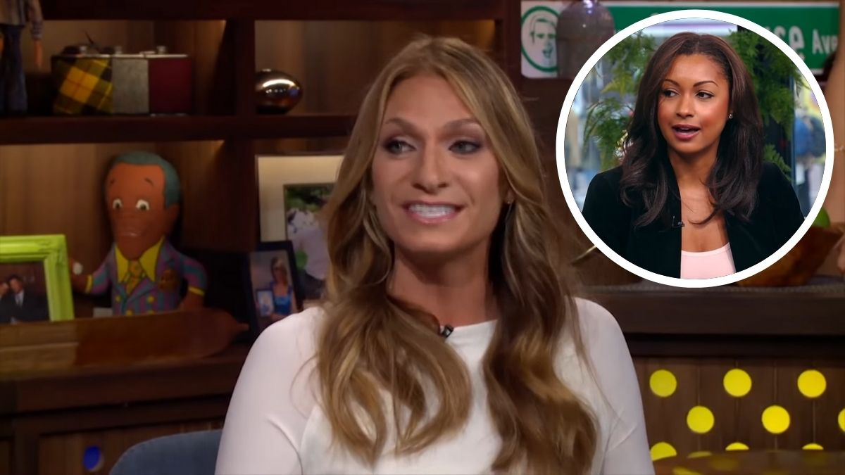 Heather Thomson talks about new RHONY addition Eboni K. Williams