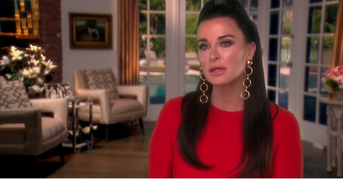 Kyle Richards on an episode of RHOBH