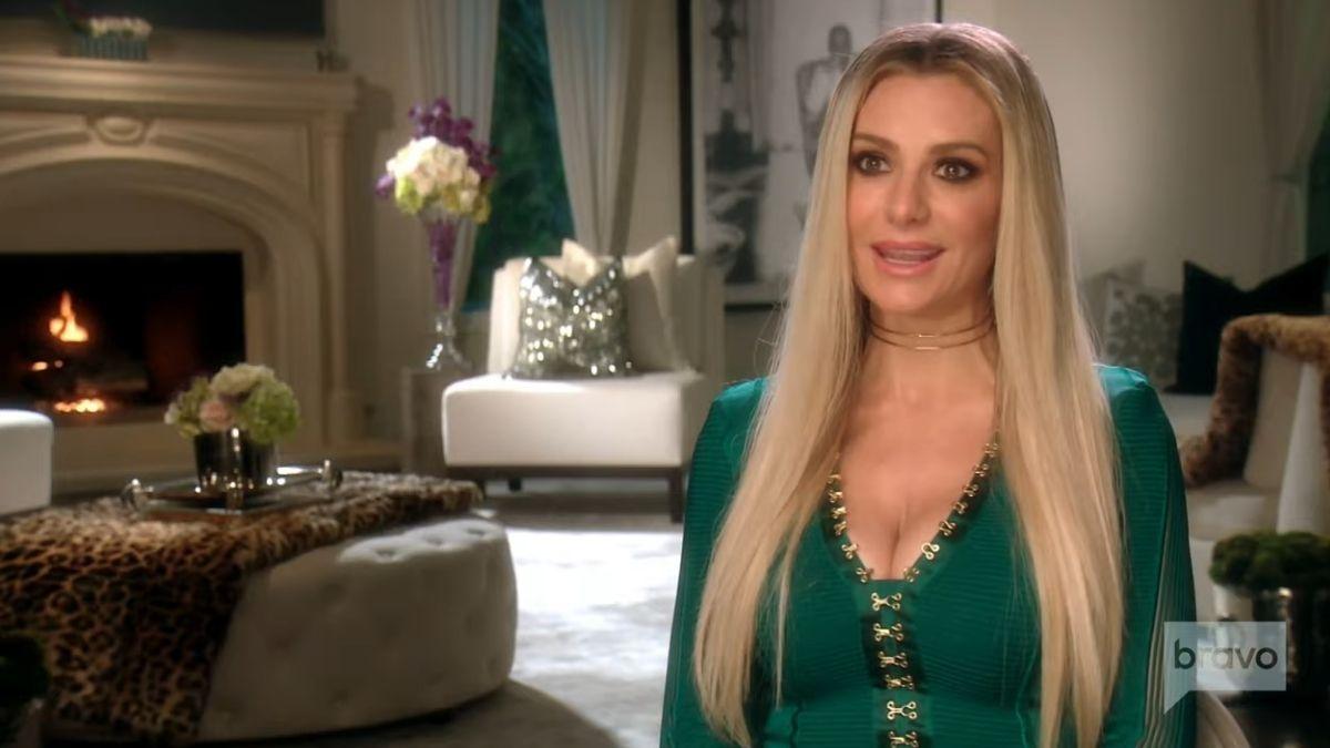Dorit Kemsley on an episode of RHOBH