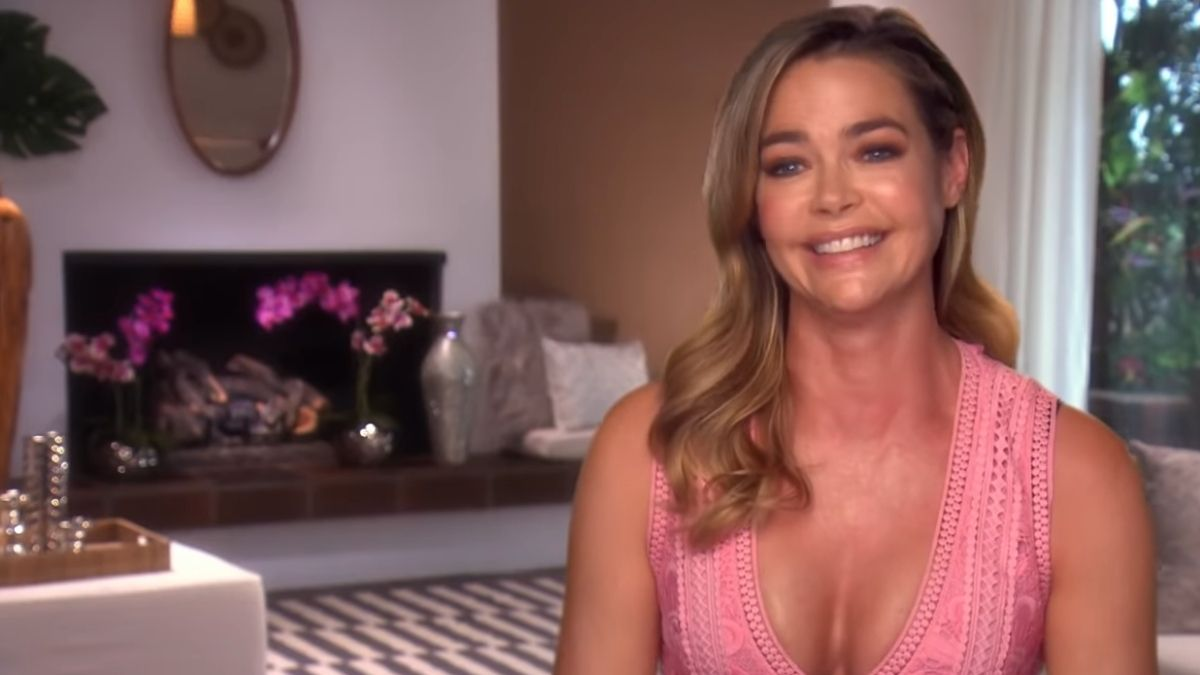 Denise Richards during an episode of RHOBH