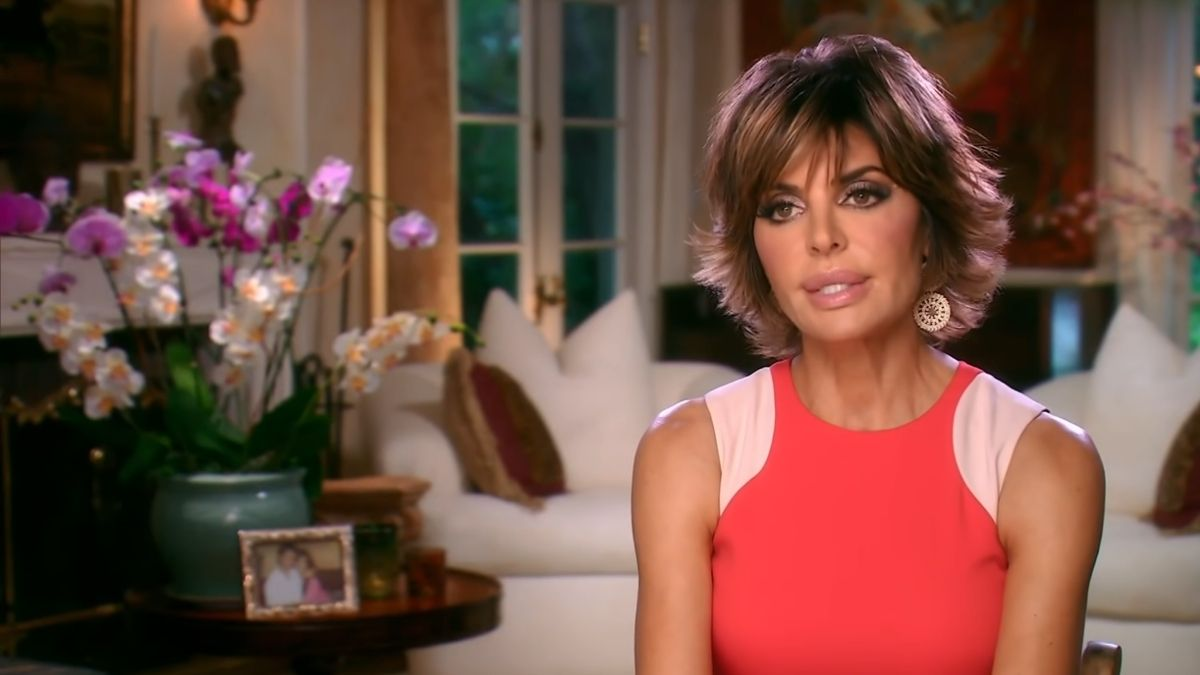 Lisa Rinna during an episode of RHOBH