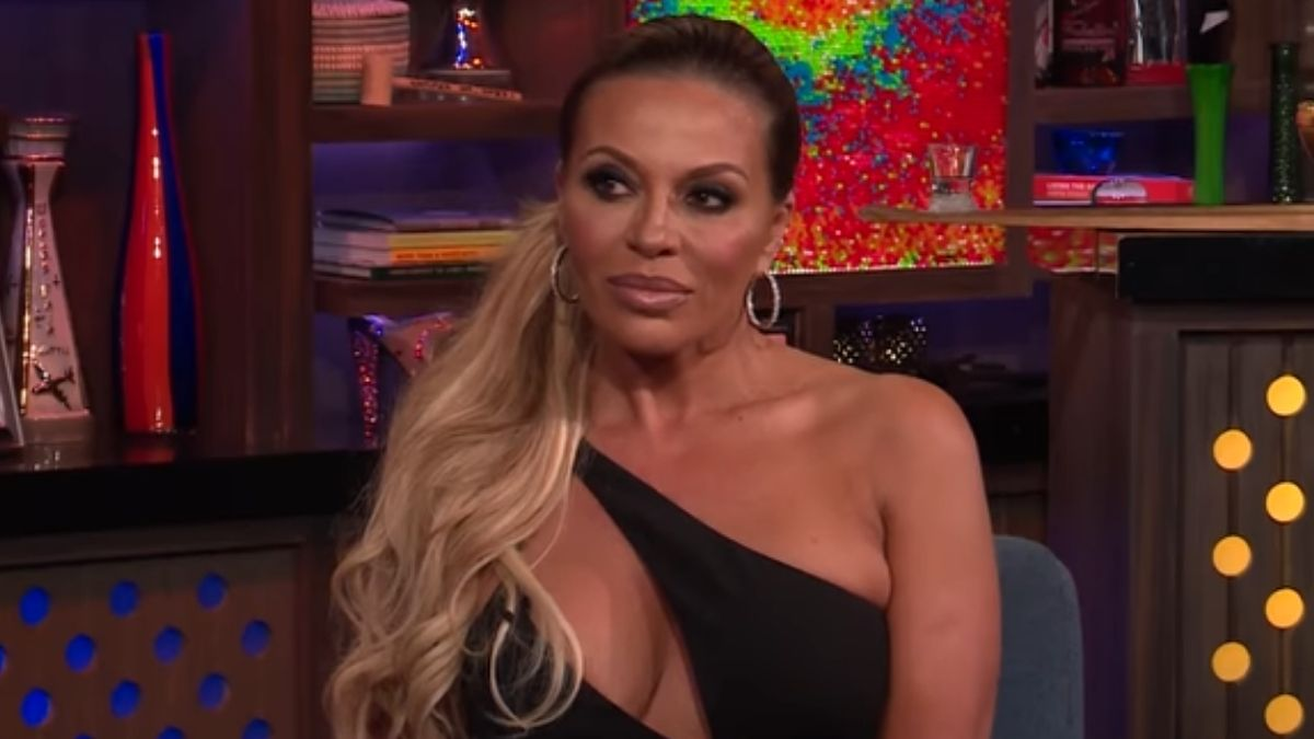 Dolores Catania during an episode of Watch What Happens Live with Andy Cohen