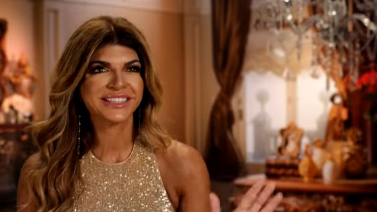 Teresa Giudice during a confessional interview on RHONJ