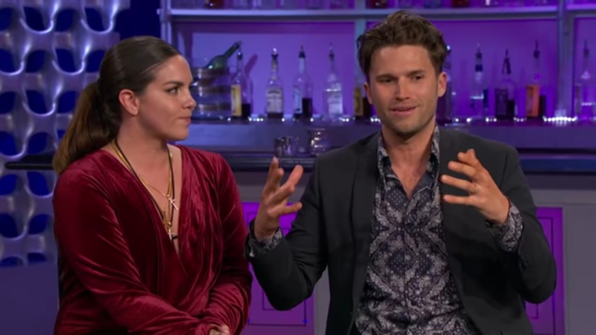 Katie Maloney and Tom Schwartz on Vanderpump Rules.