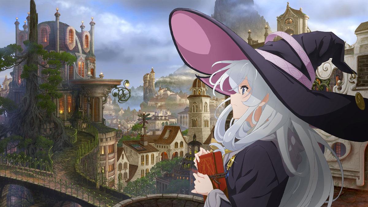 Majo no Tabitabi Anime