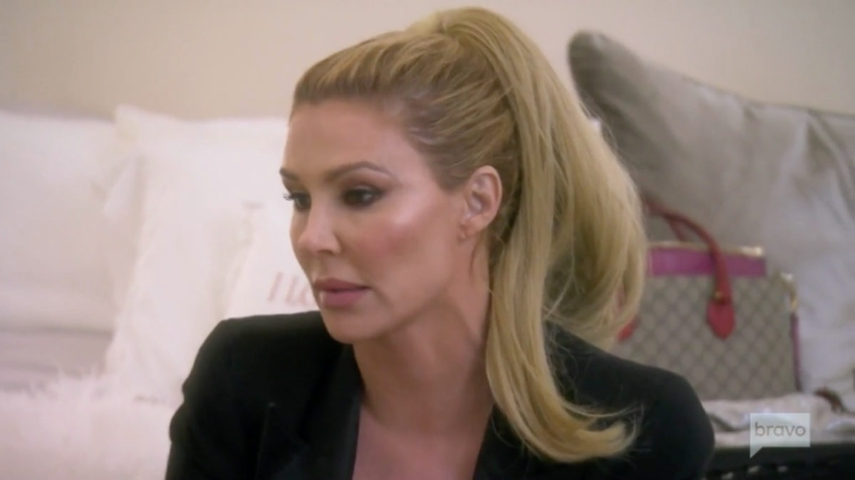 Brandi Glanville Tweets that Xanax is to blame for her Instagram post about Erika Jayne.