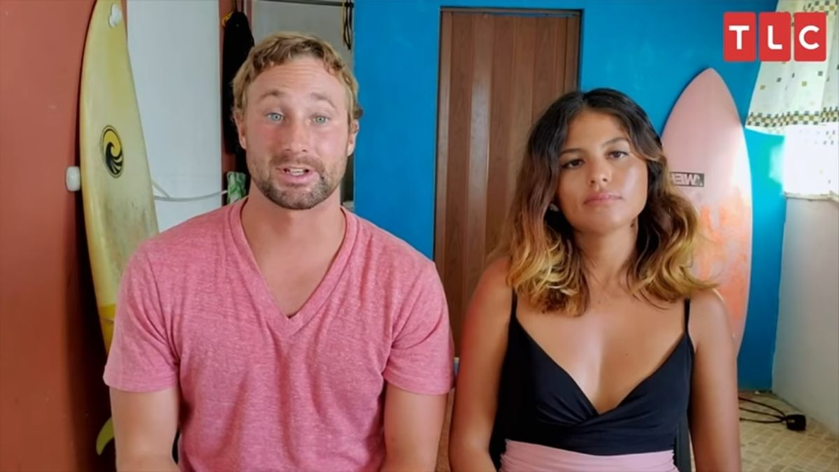 90 Day Fiance couple Corey and Evelin.