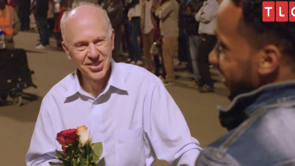90 Day Fiance star Ari Weinberg's father Dr. Fred Weinberg arrives in Ethiopia.
