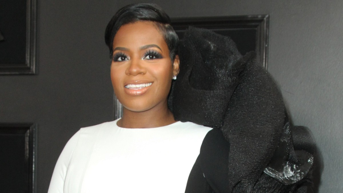 Fantasia Barrino on the red carpet