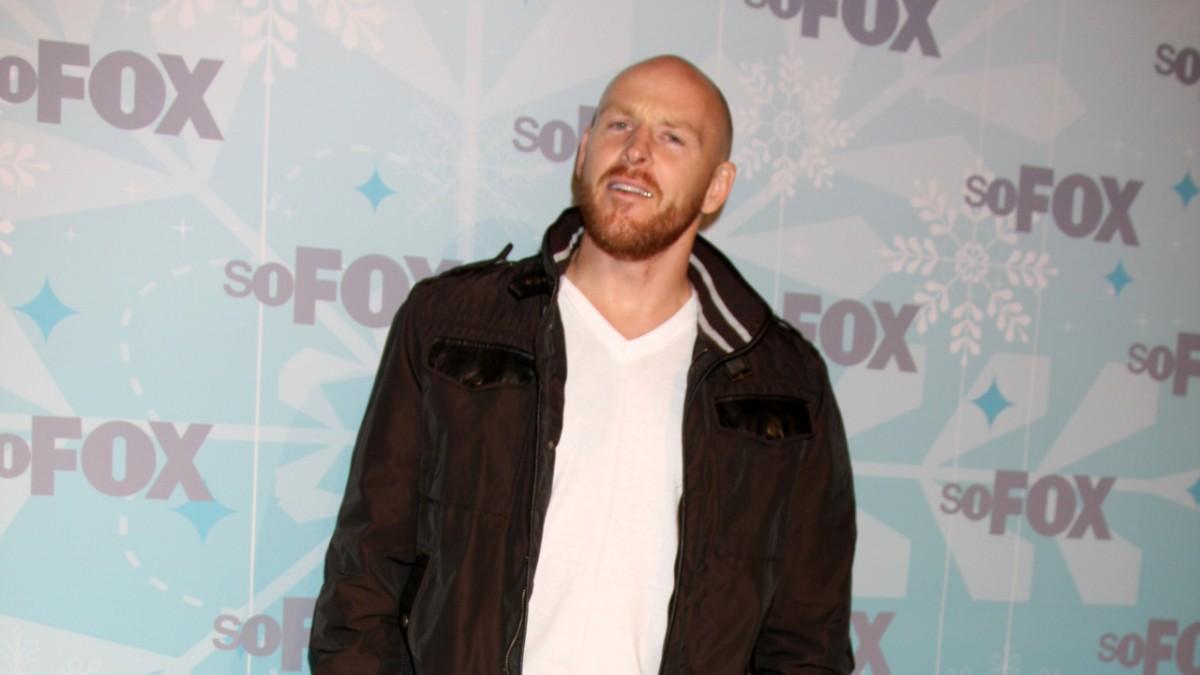 Jason Ellis on the red carpet