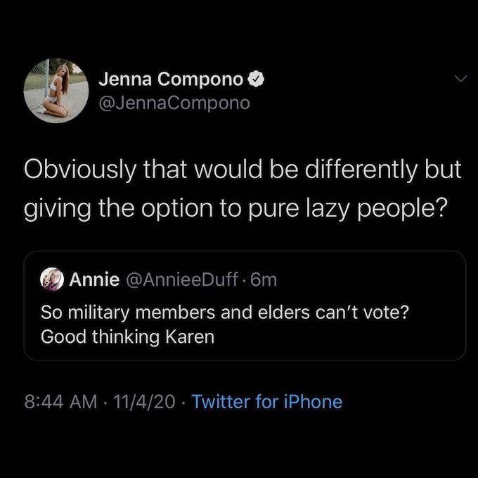 jenna replies to fan comment on her tweet