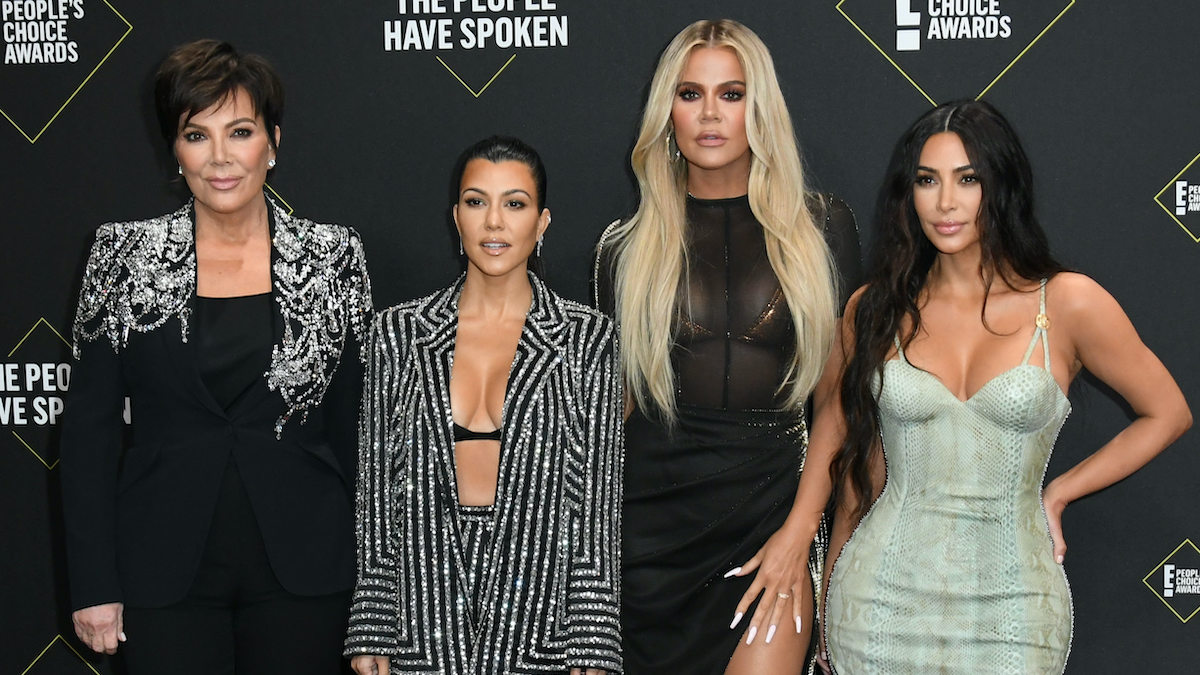 kardashians at 2019 peoples choice awards