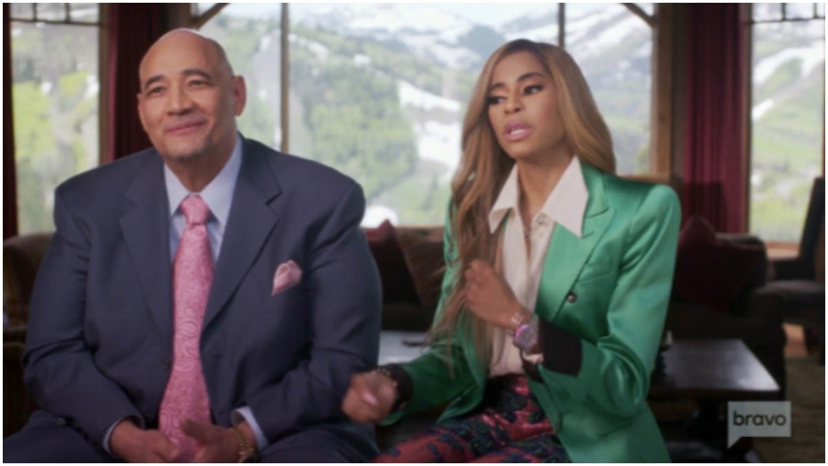 Robert and Mary Cosby discuss their unconventional marriage.