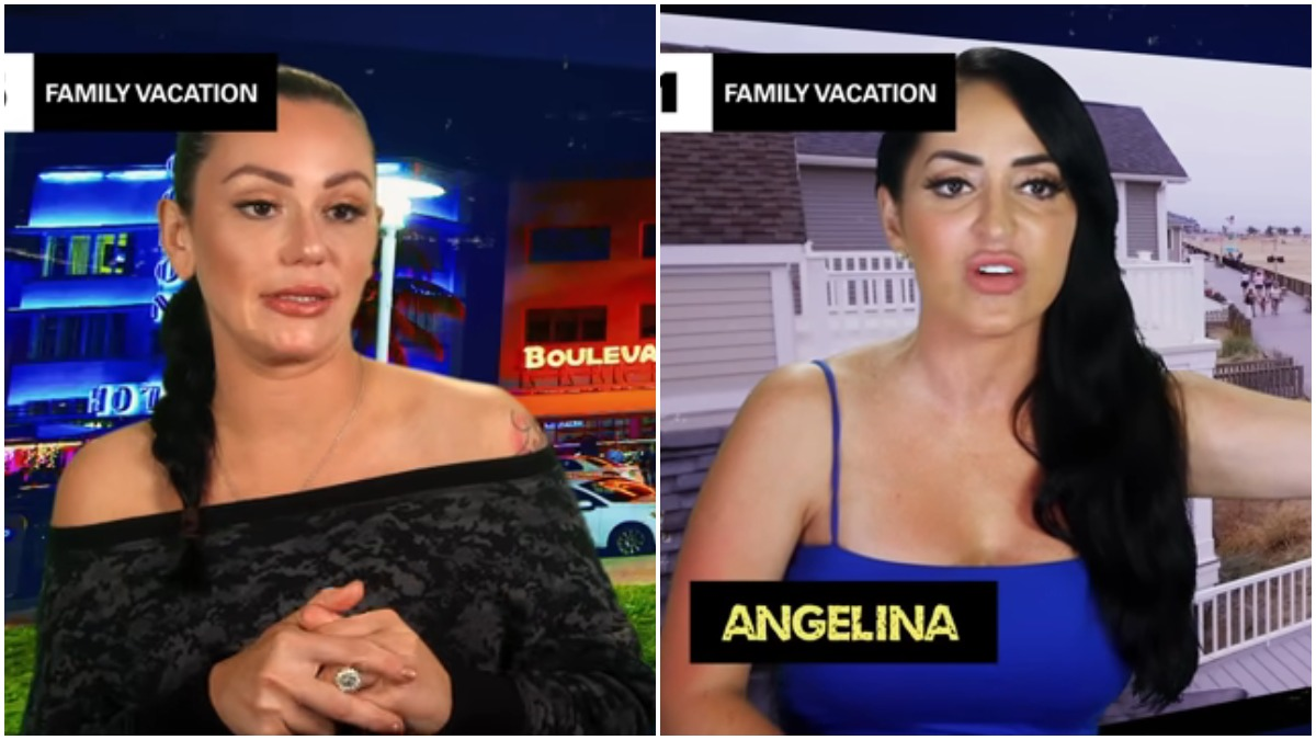 Angelina and JWOWW have been feuding with each other for years
