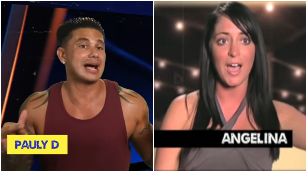 Pauly D yells at Angelina after she slaps him in the face