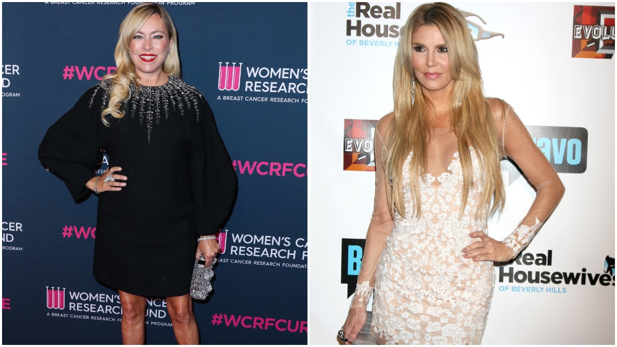 Sutton Stracke and Brandi Glanville from the RHOBH.