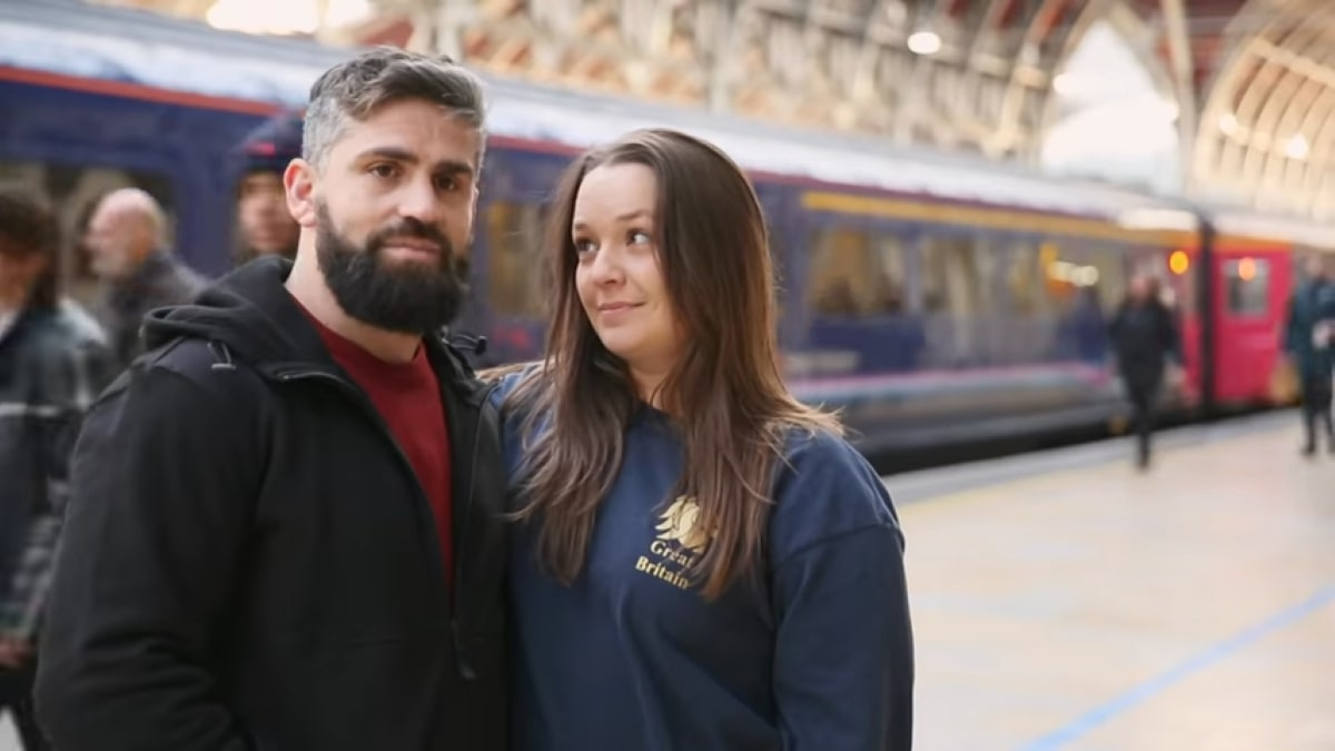 90 Day Fiance couple Rachel and Jon