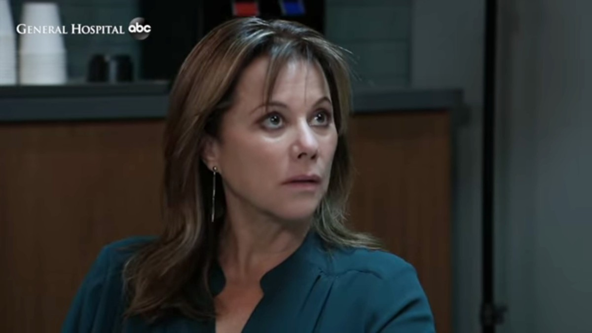 Nancy Lee Grahn as Alexis on General Hospital.