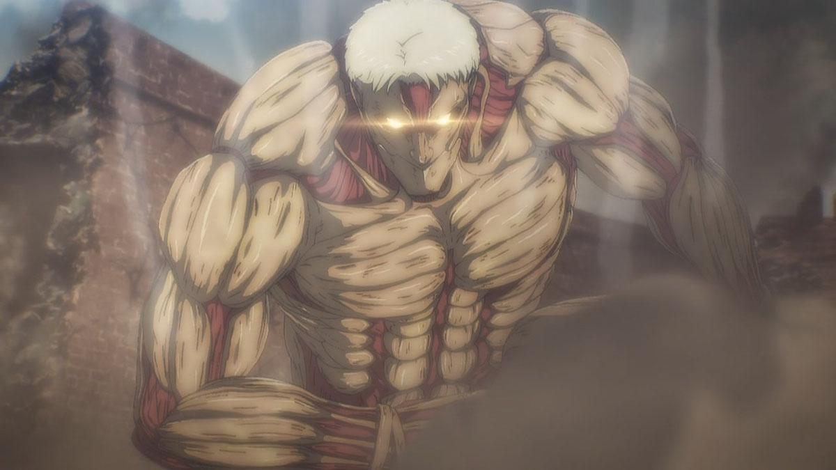 Shingeki no Kyojin Season 4 Armored Titan