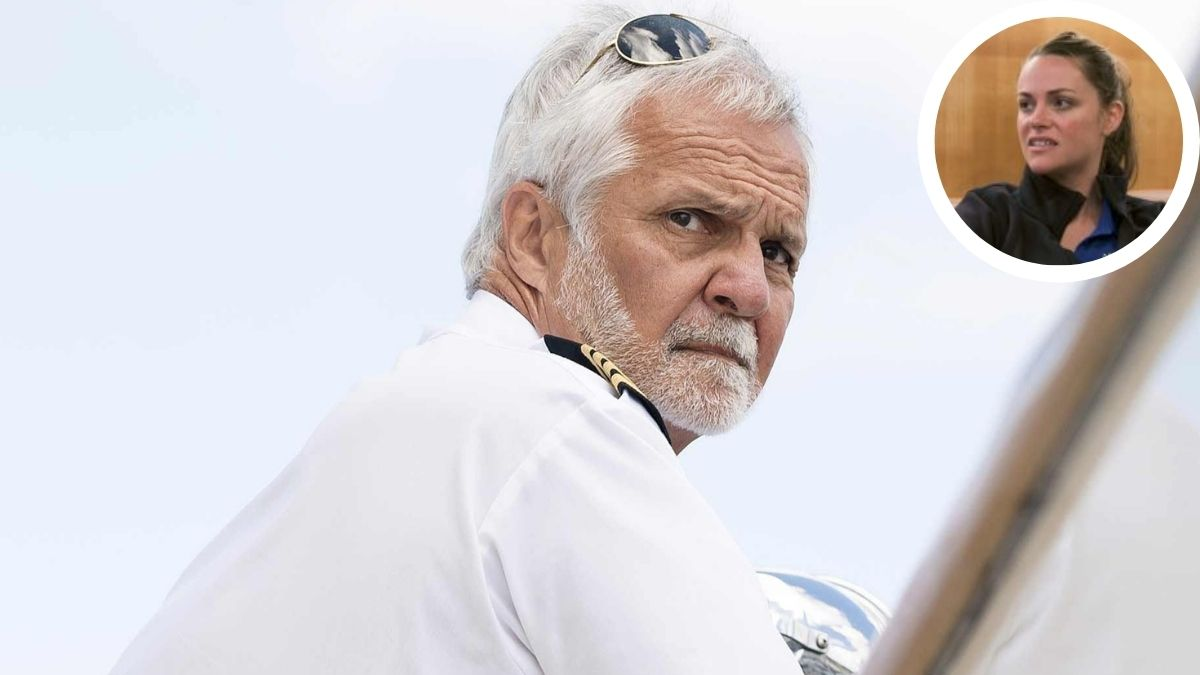 Captain Lee Rosbach reacts to Rachel Hargrove leaving Below Deck.