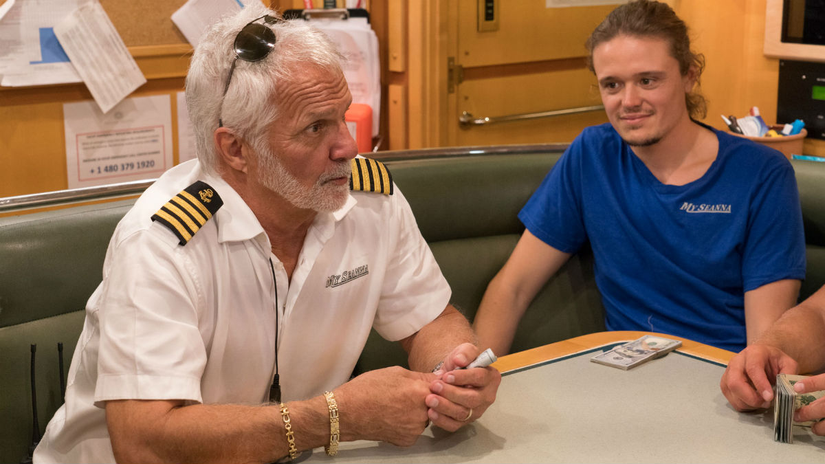 Captain Lee Rosbach talks Below Deck tip money.