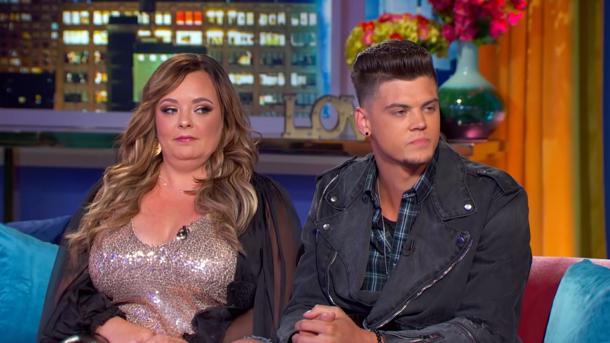 Catelynn Lowell and Tyler Baltierra on Teen Mom OG