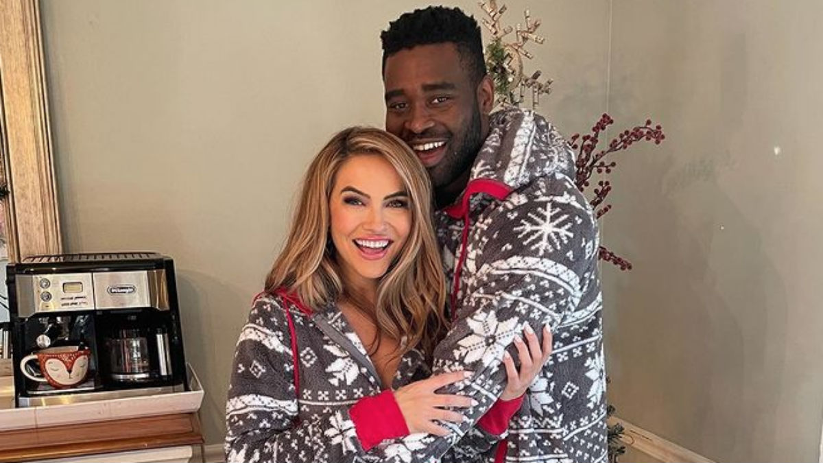 Chrishell Stause and Keo Motsepe celebrate holidays together.