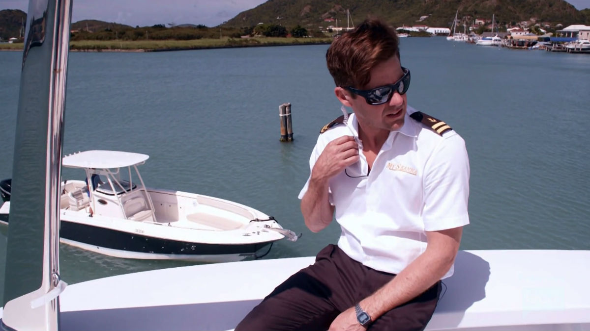 Below Deck's Eddie Lucas talk hooking up on show.