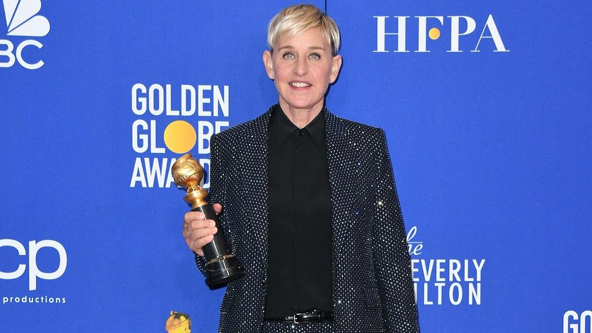 Talk show host Ellen DeGeneres