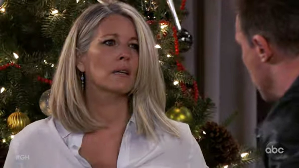 Laura Wright as Carly on General Hospital.