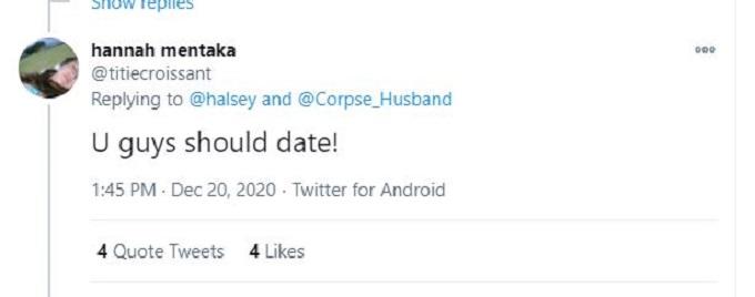 Halsey and Corspe Husband