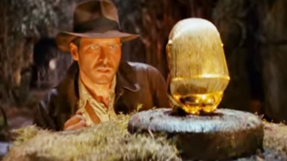 Harrison Ford in Indiana Jones and the Raiders of the Lost Ark