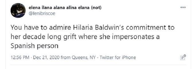 Hilaria Baldwin on Twitter
